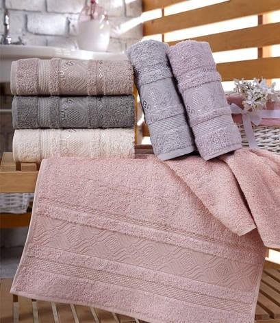 Набор полотенец для лица Sikel Bamboo Ekinos 70*140см бамбуковые банные 6шт арт.8681049350022, фото 2