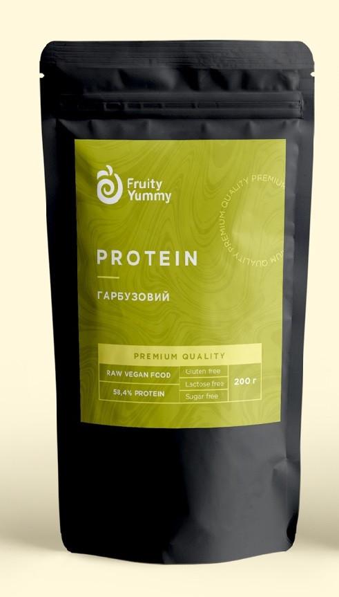 Рослинний протеїн Гарбузовий Premium, 200 г Fruity Yummy