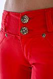 Шорты OMAT 1539-442 красные, фото 9