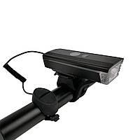 Велофара HJ-062 300lm с сигналом