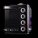 Электродуховка Электрическая печь LIBERTON LEO-650 Black Mirror (65л), фото 2