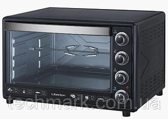 Электродуховка Электрическая печь LIBERTON LEO-650 Black Mirror (65л)