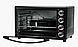 Электродуховка Электрическая печь LIBERTON LEO-650 Black Mirror (65л), фото 4