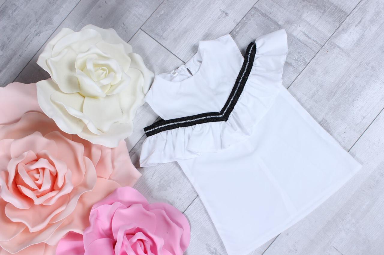 Школьная блузка для девочки  р. 116-134 опт