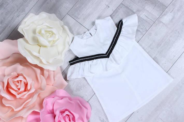 Школьная блузка для девочки  р. 116-134 опт, фото 2