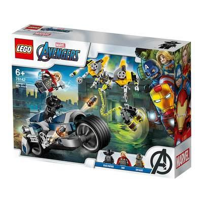 Конструктор LEGO Marvel Super Heroes Мстители Атака на спортбайке (76142)