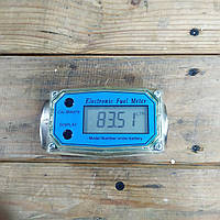 Электронный счетчик расходомер топлива Ду 25, Счётчик жидкости TF-1