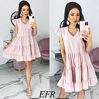 Женское свободное платье с 42 по 48 рр супер софт