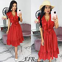 Женское модное платье на лето с 42 по 48 рр супер софт