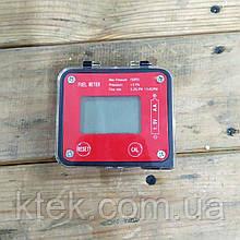Електронний лічильник 1/2 дюйма з овальними шестернями FUEL METER