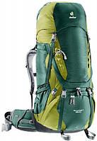 Рюкзак Deuter Aircontact 65+10 цвет 2218 forest-moss (3320516 2218)