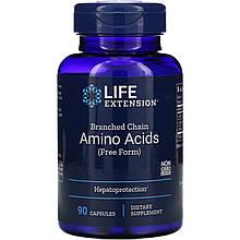 """Аминокислоты с разветвленной цепью Life Extension """"Branched Chain Amino Acids"""" (90 капсул)"""