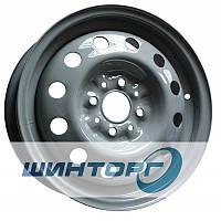Диск колесный R14 5J-14Н2 PCD4-98 DIA58.6 ET35 ВАЗ 2110 серый КрКЗ
