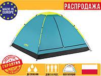 """Палатка3-х местная Bestway 68085""""Cool Ground Туристическая ПалаткаНамет туристичнийТрехместная палатка"""