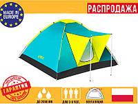 """Палатка3-х местная Bestway 68088""""Cool Ground Туристическая ПалаткаНамет туристичнийТрехместная палатка"""