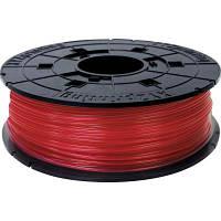 Пластик для 3D-принтера XYZprinting PLA(NFC) 1.75 мм/0.6 кг Filament, Clear Red (RFPLCXEU02A)