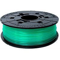 Пластик для 3D-принтера XYZprinting PLA(NFC) 1.75 мм/0.6 кг Filament, Clear Green (RFPLCXEU04G)