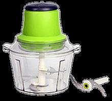 """Блендер Подрібнювач """"Блискавка"""" з 2-ма насадками - Універсальний кухонний електричний подрібнювач 6 в 1"""