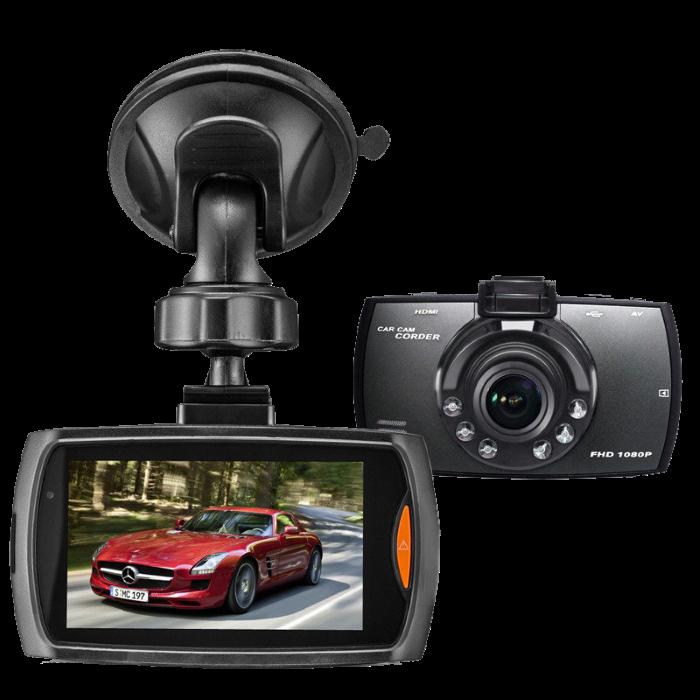 Автомобильный видеорегистратор G30 Full HD 1080P Черный + USB кабель