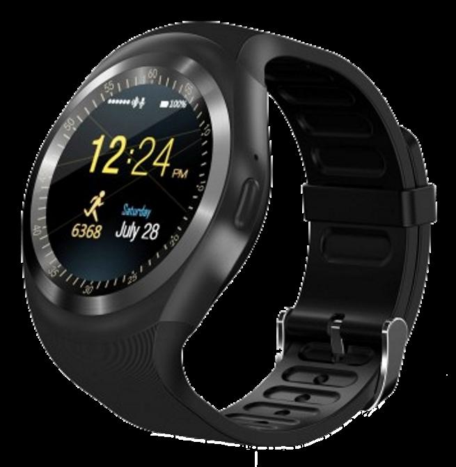 Розумні смарт годинник Smart Watch Y1S з слотом під SIM карту Чорні