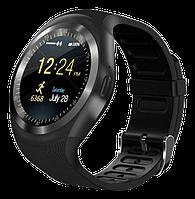 Розумні смарт годинник Smart Watch Y1S з слотом під SIM карту Чорні, фото 1