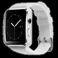 Розумні годинник Smart Watch X6 white - смарт годинник зі слотом під SIM карту Білі, фото 1