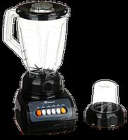 Стаціонарний блендер Domotec MS-9099 2 в 1 - потужний блендер подрібнювач з кавомолкою