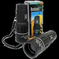 Монокуляр BUSHNELL з подвійною фокусуванням 16x52 + чохол - надпотужний компактний легкий