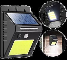 Вуличний світильник SH-1605 - Вуличний світлодіодний підвісний ліхтар з датчиком руху на сонячній батареї