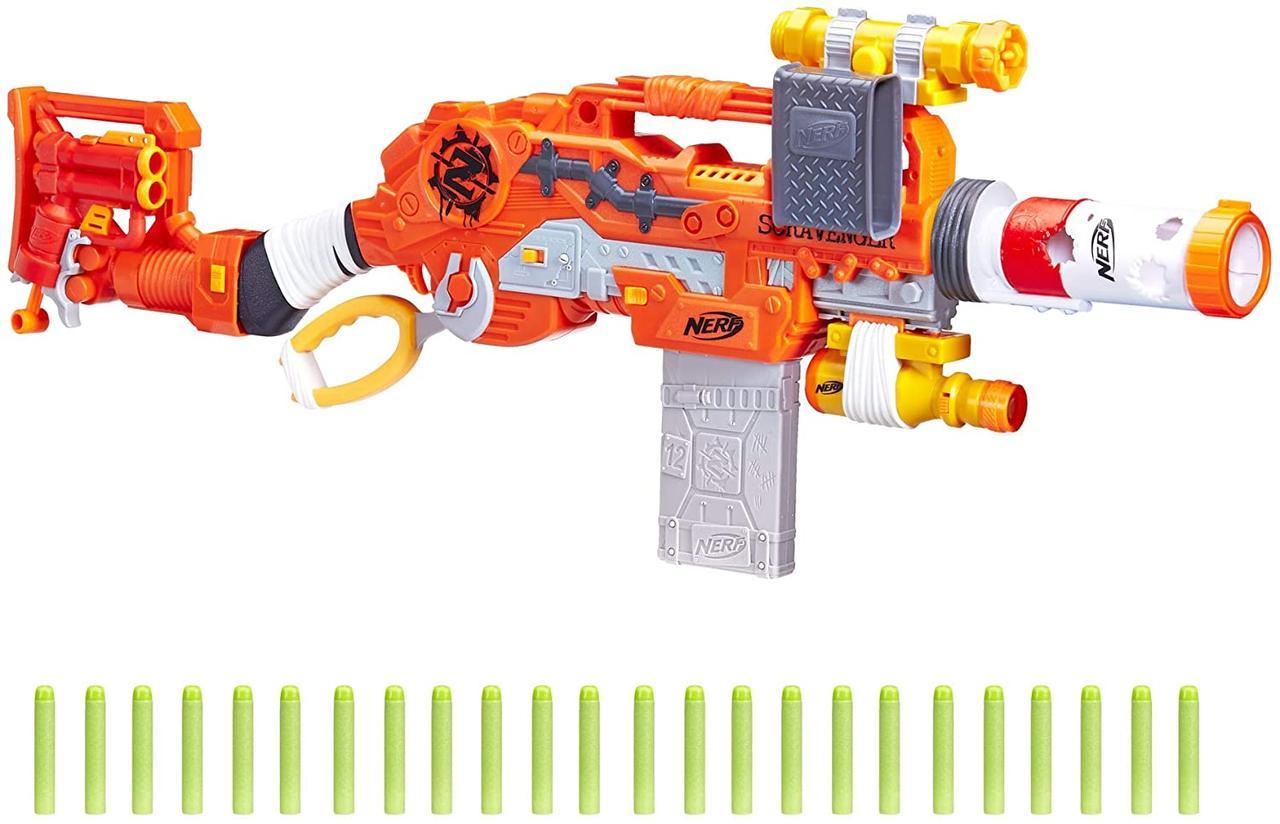 Nerf Zombie Strike Scravenger Нерф Зомби Страйк Выживший Скрэвенджер (E1754)