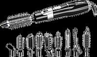 Фен-стайлер для волосся 10 в 1 Gemei GM-4833 - повітряний стайлер, фен-щітка, набір для укладки волосся, фото 1