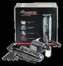 Бездротова машинка для стрижки волосся і бороди з Gemei GM-6050, фото 2