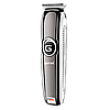 Бездротова машинка для стрижки волосся і бороди з Gemei GM-6050, фото 6