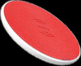 Беспроводная зарядка Hoco CW14 Красная, фото 3