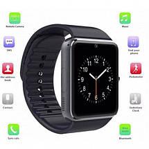 Розумні годинник Smart Watch GT08 Black - смарт годинник під SIM-карту, фото 2