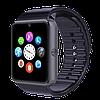 Розумні годинник Smart Watch GT08 Black - смарт годинник під SIM-карту, фото 3