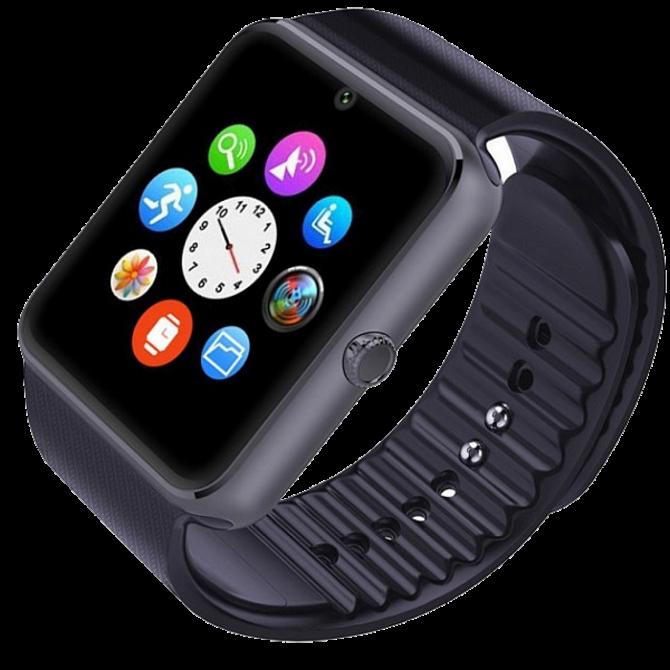 Розумні годинник Smart Watch GT08 Black - смарт годинник під SIM-карту
