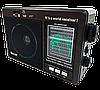 Радиоприемник GOLON RX-9966UAR - Большой портативный радиоприёмник - колонка MP3 с USB и аккумулятором, фото 5