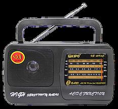 Радиоприемник KIPO KB-409AC - мощный Фм радиоприемник c usb, Fm радио, фото 2