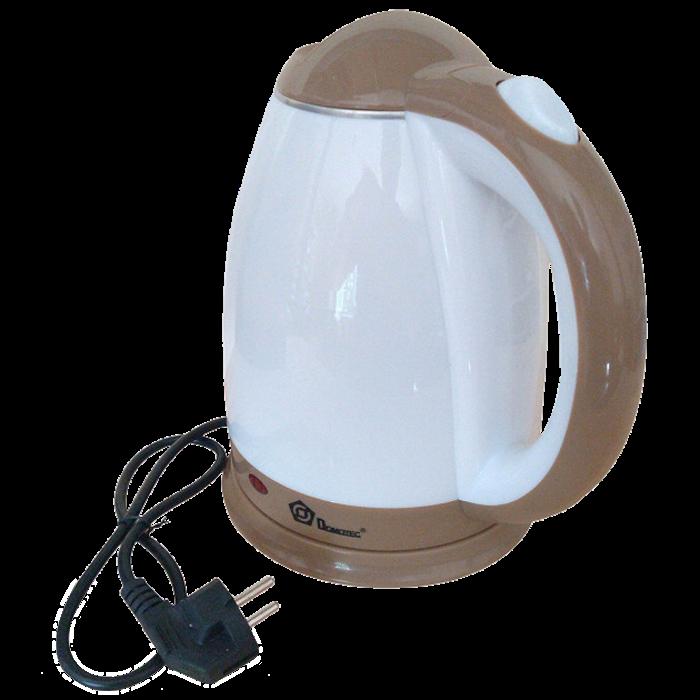 Електрочайник DOMOTEC MS-5025C - Чайник електричний 2.0 л 220V/1500W Коричневий