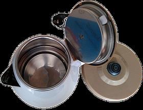 Електрочайник DOMOTEC MS-5025C - Чайник електричний 2.0 л 220V/1500W Коричневий, фото 3