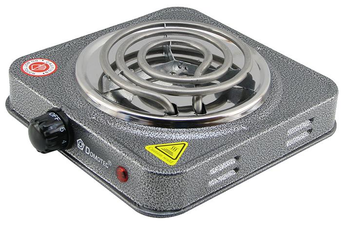 Електроплита DOMOTEC MS-5801 спіральна - настільна електрична плита 1 конфорка (1000 Вт)