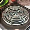 Електроплита DOMOTEC MS-5801 спіральна - настільна електрична плита 1 конфорка (1000 Вт), фото 4