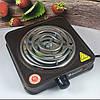 Електроплита DOMOTEC MS-5801 спіральна - настільна електрична плита 1 конфорка (1000 Вт), фото 5