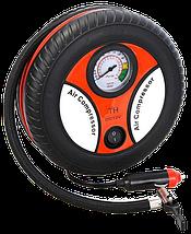 Автомобильный компрессор Air Compressor DC12V 260 PSI - Мощный Автокомпрессор для быстрой подкачки колес, фото 2