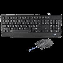 Клавіатура Zeus M710 + мишка. Російська дротова клавіатура з підсвічуванням., фото 3