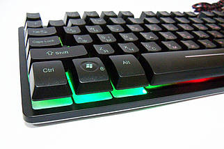 Ігрова клавіатура з підсвічуванням UKC ZYG-800, фото 3