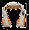Массажер роликовый Massager of Neck Kneading с подогревом - электрический массажер для спины, шеи, плеч, фото 4