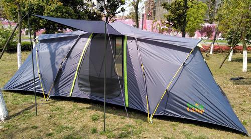 Палатка шестиместная GreenCamp автомат (2 комнаты) GC-920