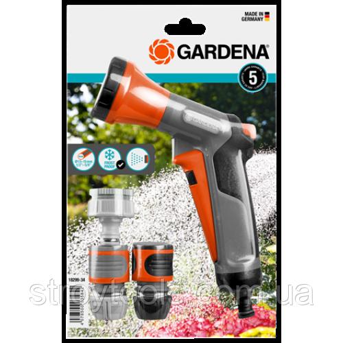 Пистолет для полива + набор коннекторов Gardena Classic
